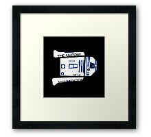 Anatomy of an Astromech Droid Framed Print