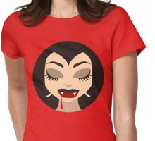 Vampire Girl Dream Womens Fitted T-Shirt