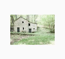 Deserted stone cottage in forest Unisex T-Shirt