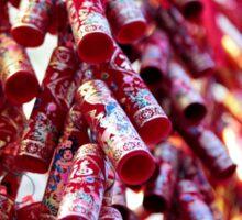 Chinese Firecracker Decorations Sticker