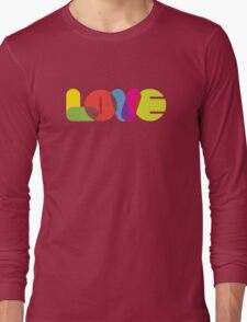 LOVE Collection by of paper & pixels Long Sleeve T-Shirt