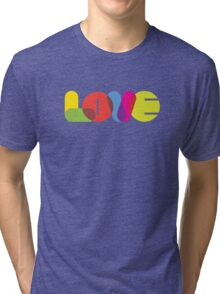 LOVE Collection by of paper & pixels Tri-blend T-Shirt