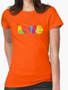 LOVE Collection by of paper & pixels Womens Fitted T-Shirt