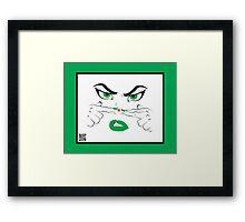 Pimple Popper Framed Print