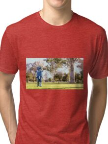 Blue-Bot Tri-blend T-Shirt