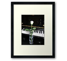 The Musical Rose Framed Print