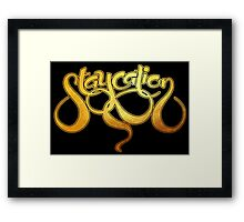 staycation Framed Print
