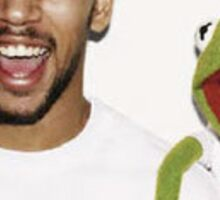 Kermit the Frog Supreme Sticker