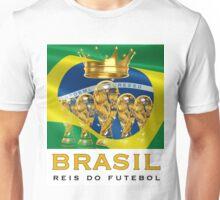 Brasil Kings of Soccer Unisex T-Shirt
