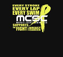 MCSC Swims To Support Breast Cancer Unisex T-Shirt