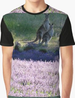 Evening in the Lavender  Graphic T-Shirt