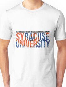 S.I. Newhouse School at Syracuse University Unisex T-Shirt