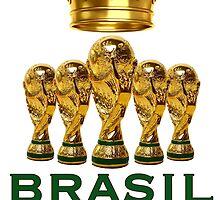Brasil reis do futebol by estudio3e