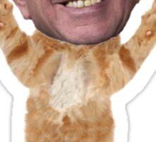 Bernie Sanders Cat Sticker