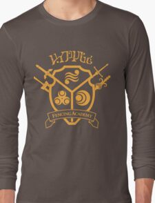 Hyrule Fencing Academy - Gold Long Sleeve T-Shirt