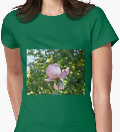 Sweet Frustration - The Rose Beyond The Wall Womens Fitted T-Shirt