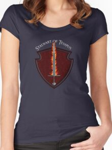 D&D Tee - Stalwart of Tempus Women's Fitted Scoop T-Shirt
