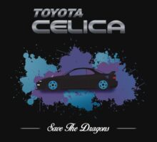 Save The Dragons Toyota Celica ST185 ST184 by MikeKunak