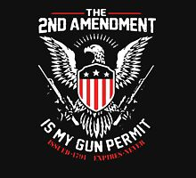 2nd Amendment Is My Gun Permit Unisex T-Shirt