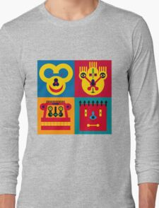 Happy Town Faces 2 Long Sleeve T-Shirt