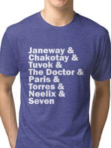 Star Trek Voyager Crew Tri-blend T-Shirt