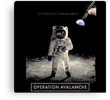 Operation Avalanche Canvas Print