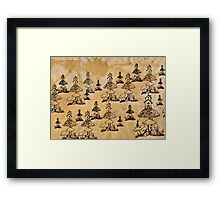 The Village Framed Print