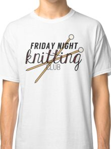 Friday Night Knitting Club Classic T-Shirt