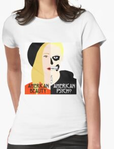 American Beauty, American Psycho Womens Fitted T-Shirt
