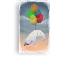 Good Bye cruel world! Canvas Print