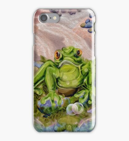 Frowny Froggie iPhone Case/Skin