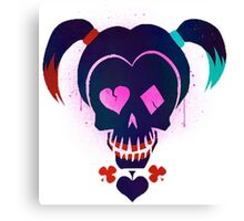 Harley Quinn Suicide Squad Canvas Print