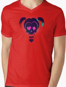 Harley Quinn Suicide Squad Mens V-Neck T-Shirt