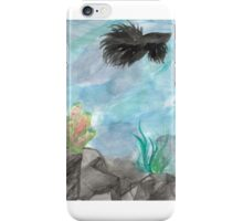 Upon the Water's Depths iPhone Case/Skin