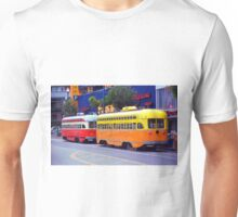 San Francisco Trolley Cars Unisex T-Shirt