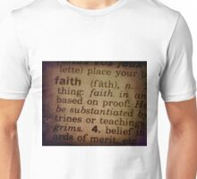 Finding Meaning Faith Unisex T-Shirt