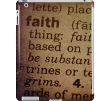 Finding Meaning Faith iPad Case/Skin