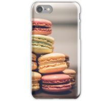 French Macaron Sweets iPhone Case/Skin