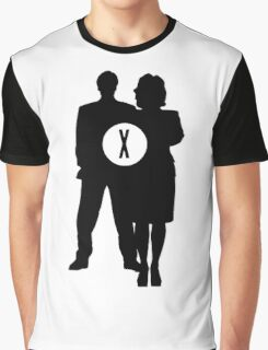 Skully and Mulder Graphic T-Shirt