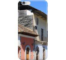 Road in a Mountain Town iPhone Case/Skin