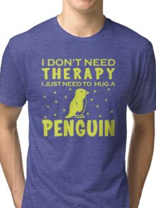 PENGUIN THERAPY Tri-blend T-Shirt