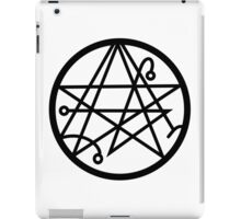 Cthulhu - Sigil of the Gateway iPad Case/Skin