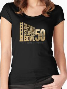Super Bowl 50 III Women's Fitted Scoop T-Shirt