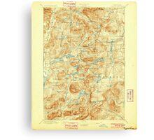 New York NY Paradox Lake 148185 1897 62500 Canvas Print
