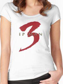 Ip Man 3 Movie Logo  Women's Fitted Scoop T-Shirt
