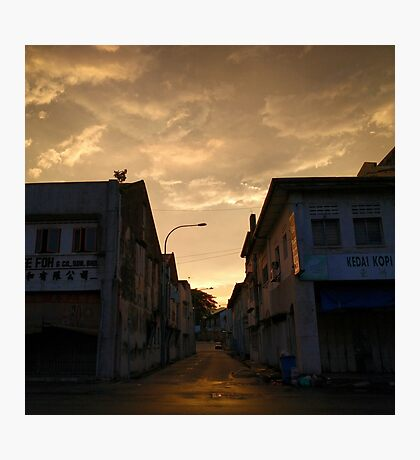 Sunset Alley Photographic Print