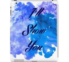 I'll Show You - Justin Bieber inspired Black iPad Case/Skin