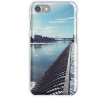 The East River in the Snow iPhone Case/Skin