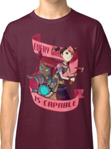 Every Girl is Capable Classic T-Shirt
