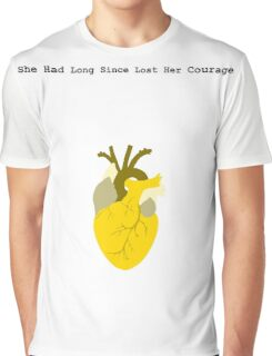She Had Long Since Lost Her Courage Graphic T-Shirt